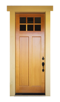 New Wooden Door